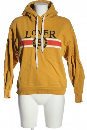 Set Kapuzensweatshirt Motivdruck Casual-Look