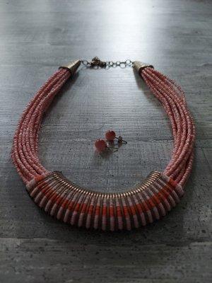 Statement Necklace pink