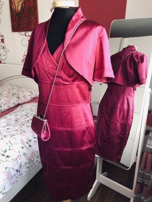Set Kleid / Bolero / Clutches von Vera Mont 38/M,