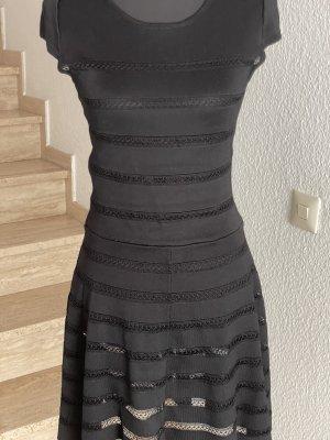 Set Peplum Dress black