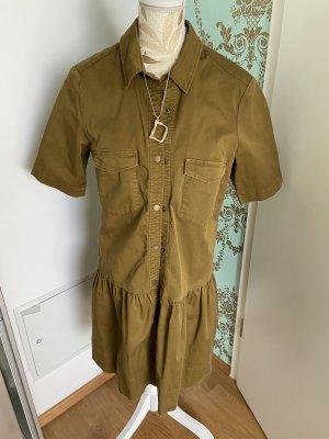 Set Robe chemise ocre