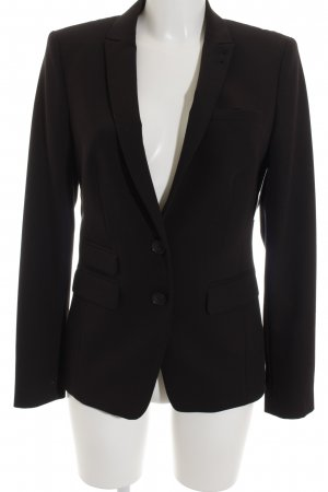 Set Blazer corto negro estilo «business»