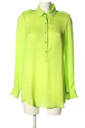 Set Blusa de manga larga verde look casual