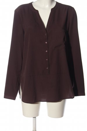 Set Langarm-Bluse lila Business-Look