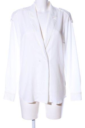 Set Langarm-Bluse weiß Elegant