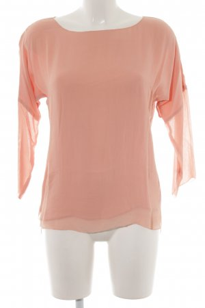 Set Langarm-Bluse apricot Casual-Look