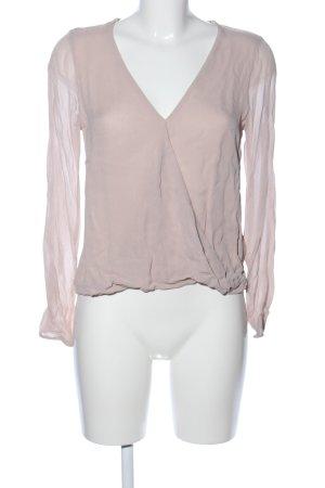 Set Langarm-Bluse nude Business-Look
