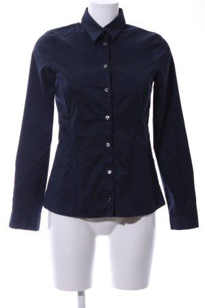 Set Langarmhemd blau Business-Look