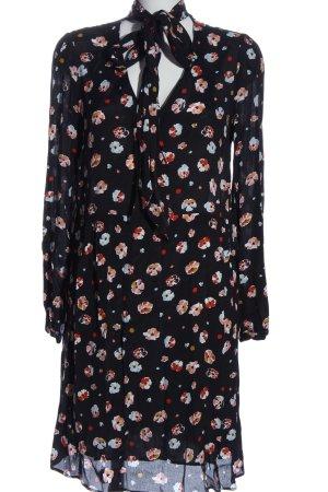 Set Longsleeve Dress allover print business style