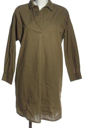 Set Sukienka z długim rękawem khaki W stylu casual
