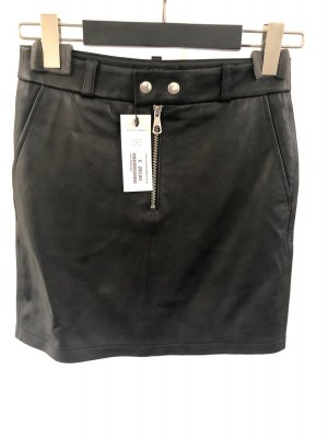 SET Urban Deluxe Falda de cuero negro