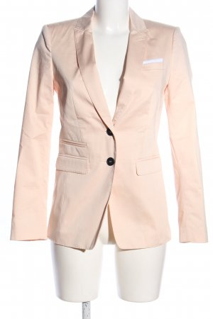 Set Long-Blazer pink Business-Look