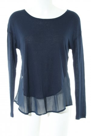 Set Longsleeve blau Casual-Look