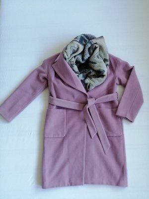 Set Mantel mit Riesen-Schal