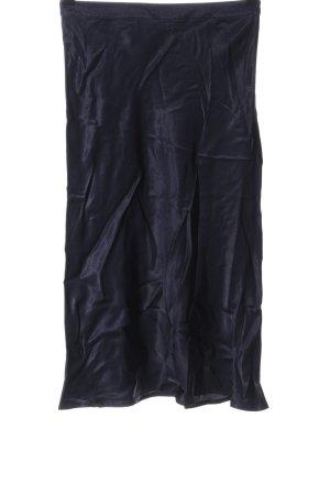 Set Spódnica midi niebieski W stylu biznesowym