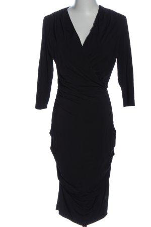 Set Langarmkleid schwarz Elegant