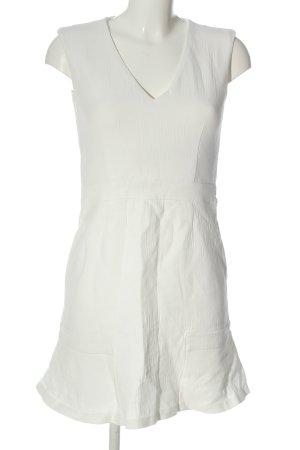 Set Minikleid weiß Elegant