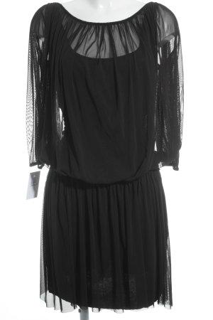 Set Minikleid schwarz