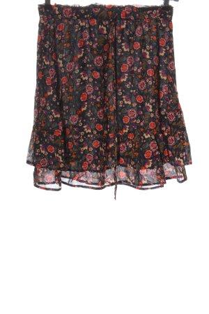 Set Minifalda estampado repetido sobre toda la superficie look casual