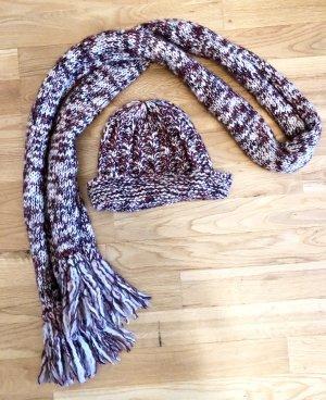 Set Mütze und Schal (Wolle) von Pennyblack, ungetragen