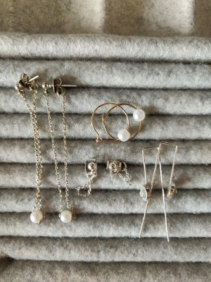 H&M Dangle silver-colored-gold-colored