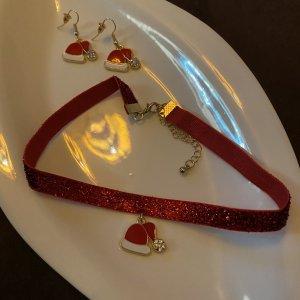 Set: Ohrringe - Halskette