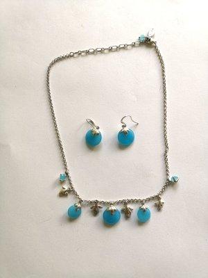 Set Ohrringe und Halskette von Pilgrim