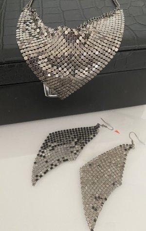 Set Ohrringe und Kette von Promod