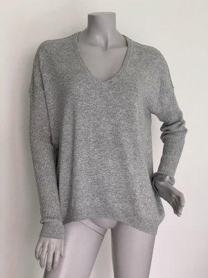 Set Sweter oversize jasnoszary