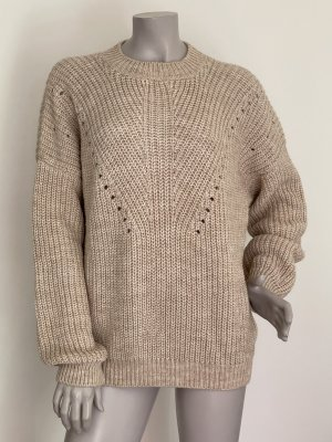Set Sweter oversize beżowy