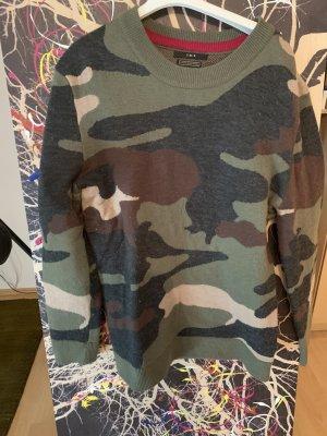 Set Sweter z okrągłym dekoltem Wielokolorowy