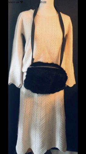 Max & Co. Dzianinowy podwójny zestaw  w kolorze białej wełny
