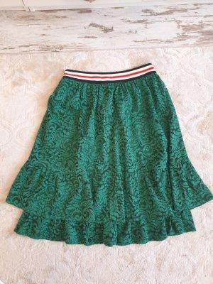 Set Flounce Skirt multicolored