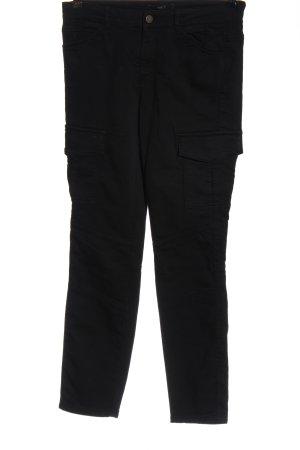 Set Pantalón de tubo negro look casual