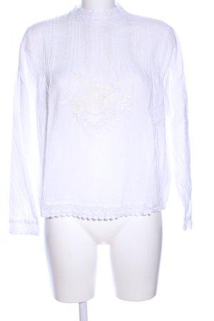 Set Schlupf-Bluse weiß Elegant