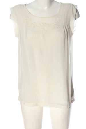 Set Bluzka przez głowę w kolorze białej wełny W stylu casual