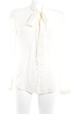 Set Blouse avec noeuds jaune clair style décontracté