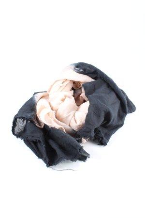 Set Schoudersjaal zwart-room casual uitstraling