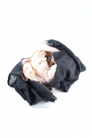 Set Mantilla negro-crema look casual