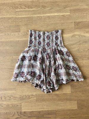 Set Silk Skirt multicolored