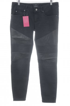 Set Skinny Jeans schwarz Casual-Look
