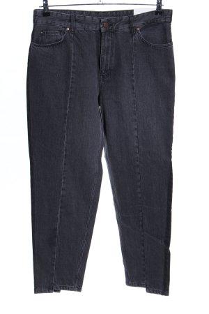 Set Slim Jeans schwarz Casual-Look