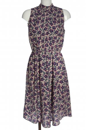 Set Summer Dress abstract pattern casual look