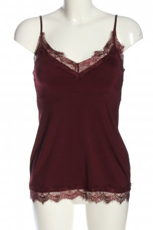 Set Spaghetti Strap Top red casual look