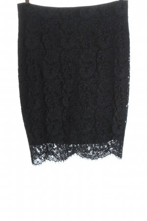 Set Lace Skirt blue graphic pattern casual look
