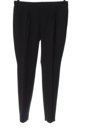 Set Spodnie materiałowe czarny W stylu casual