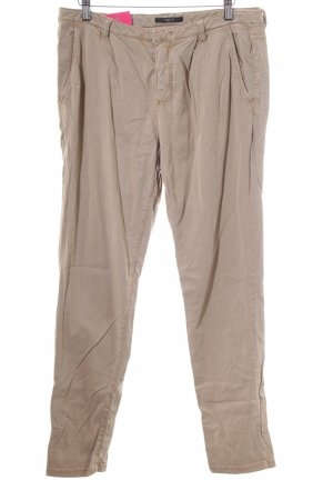 Set Stoffhose camel Casual-Look