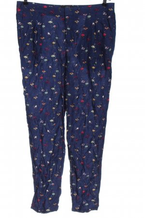 Set Stoffhose Allover-Druck Casual-Look