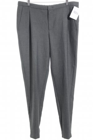 Set Stoffhose grau meliert Business-Look