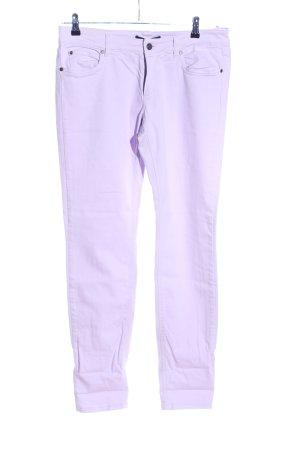 Set Straight-Leg Jeans lila Casual-Look